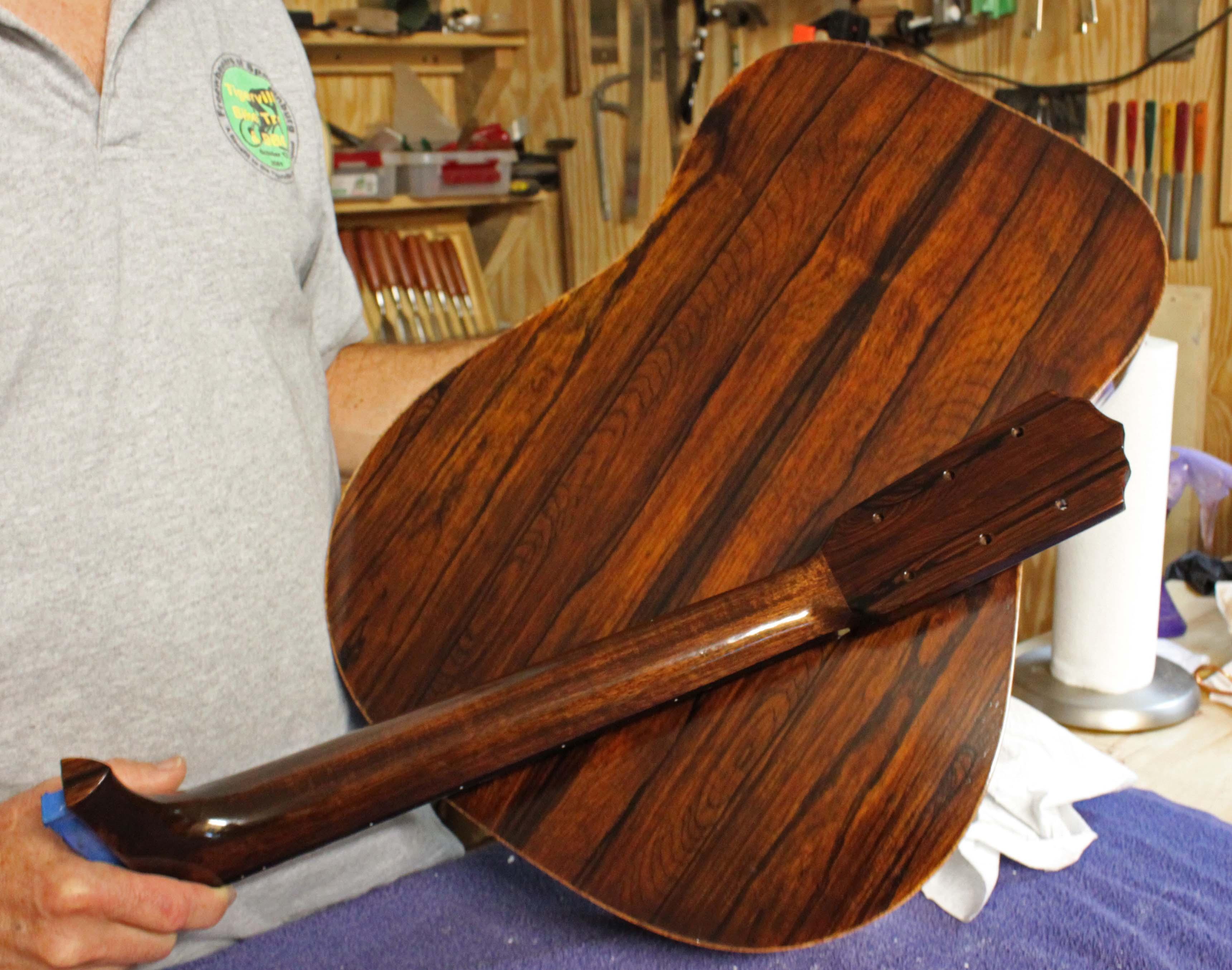 Finishing Cocobolo Wood