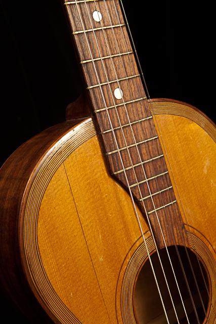 Vintage Guitar Repair  a German Parlor Guitar  Lichty