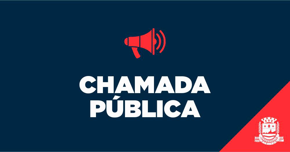 004/2019 – CHAMADA PÚBLICA