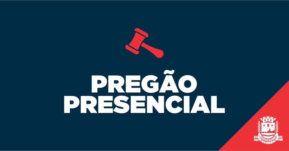 016/2020 – PREGÃO PRESENCIAL