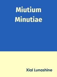 Miutium Minutiae Cover