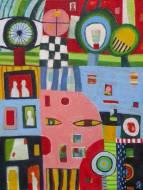Razgled v pogled, 80x60, akril, 2007