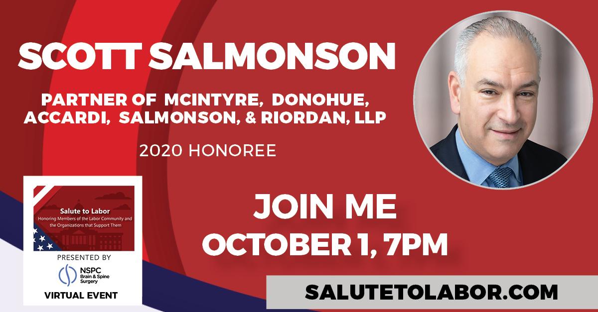 Scott Salmonson Labor Unions