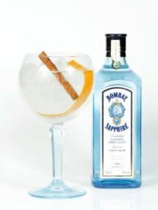 Bombay Sapphire Canela & Naranja Twist Gin