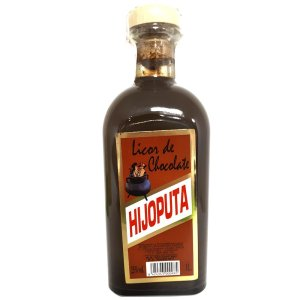Licor de chocolate Hijoputa