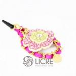 スワロフスキーデコレーション Plug-accessories-Flower-garden-01L