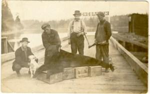 Longbranch-Rickarts-on-dock-vintage-photograph
