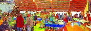 Longbranch Improvement Club Kids and Christmas (courtesy Rich Hildahl)