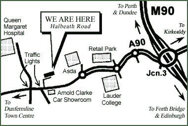 Halbeath Road, Dunfermline, Fife KY11, hotel/guest house