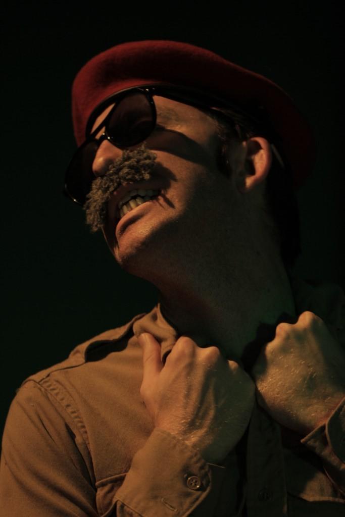 Matthew Schultz (Sadam Hussain). Photo by Ryan Gaddis (2011)
