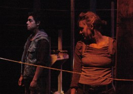 Lorenzo Sariñana (Boy) & Kelleen Shadow (Daga). Photo Erin Preston (2010).