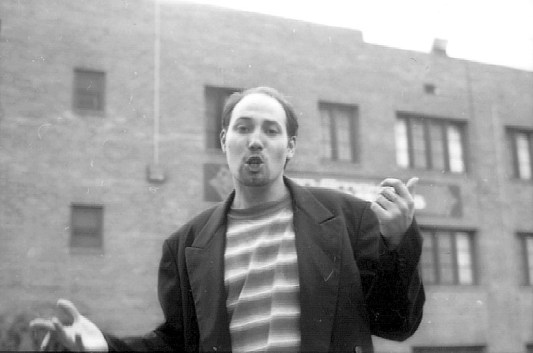 John Babcock in Tainted Pavement (1995).
