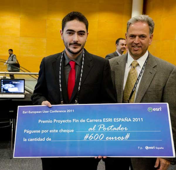Premio ESRI trabajo LiDAR