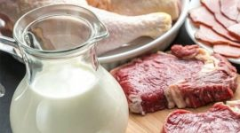 В Молдове сократилось производство мяса и молока