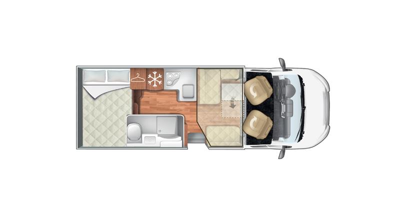 Autocaravana Roller Team Granduca 295 TL  Lidercaravan