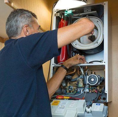reparação e instalação de caldeira assistência técnica