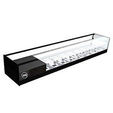 vitrina-refrigerada-cristal-plano-CUB-2pisos-i90-barata-mini