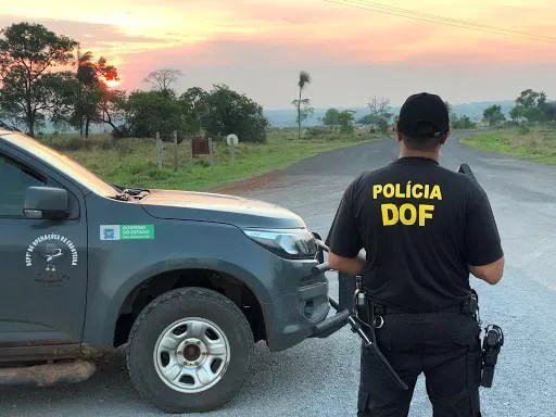 Homem foragido da Justiça da Bahia foi preso pelo DOF durante a Operação Hórus