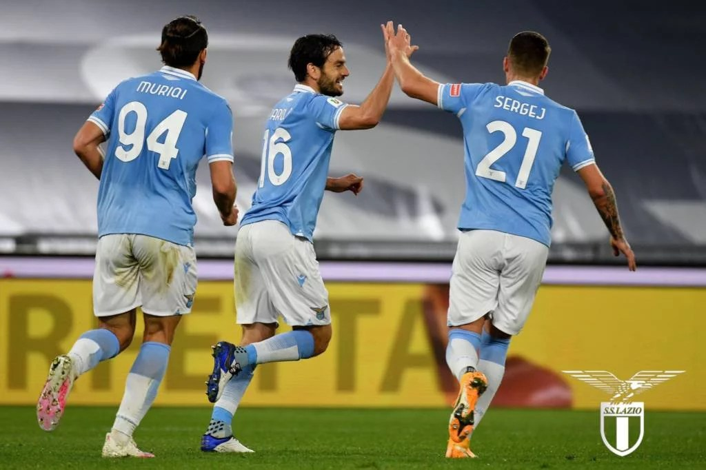 Com gol nos acréscimos, Lazio derrota o Parma e avança na Copa da Itália