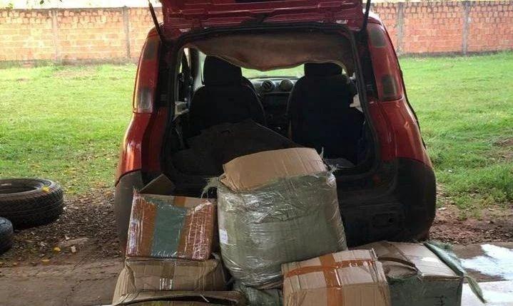 Polícia Militar apreende mercadorias ilegais em Ponta Porã