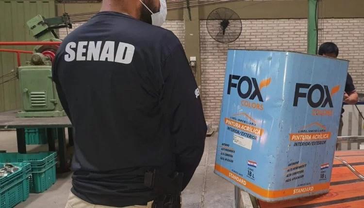 Operação identifica fábrica de tinta paraguaia que levava toneladas de cocaína para Europa