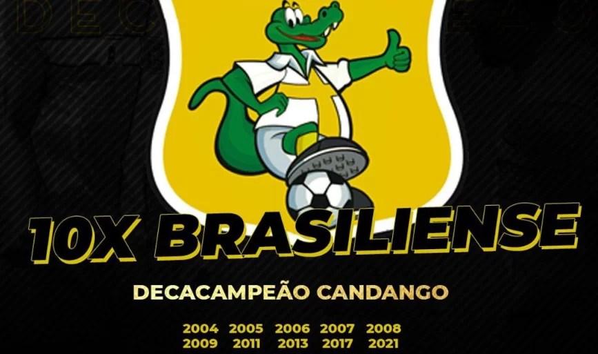 Brasiliense vence o Candangão e é primeiro campeão estadual de 2021