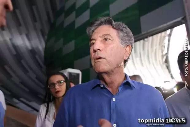 Após meses internado, vice-governador Murilo Zauith vence a covid-19