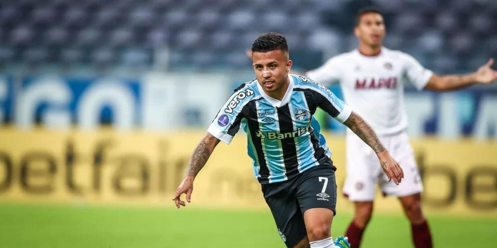 Sul-Americana: Grêmio bate Lanús e encaminha vaga nas oitavas