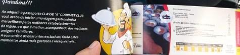 """Passaporte Classe """"A"""" Gourmet Cub de descontos uma inovação para o comércio em Ponta Porã"""