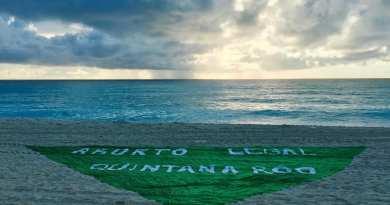 Inicia Caravana del Pañuelo Verde en Quintana Roo