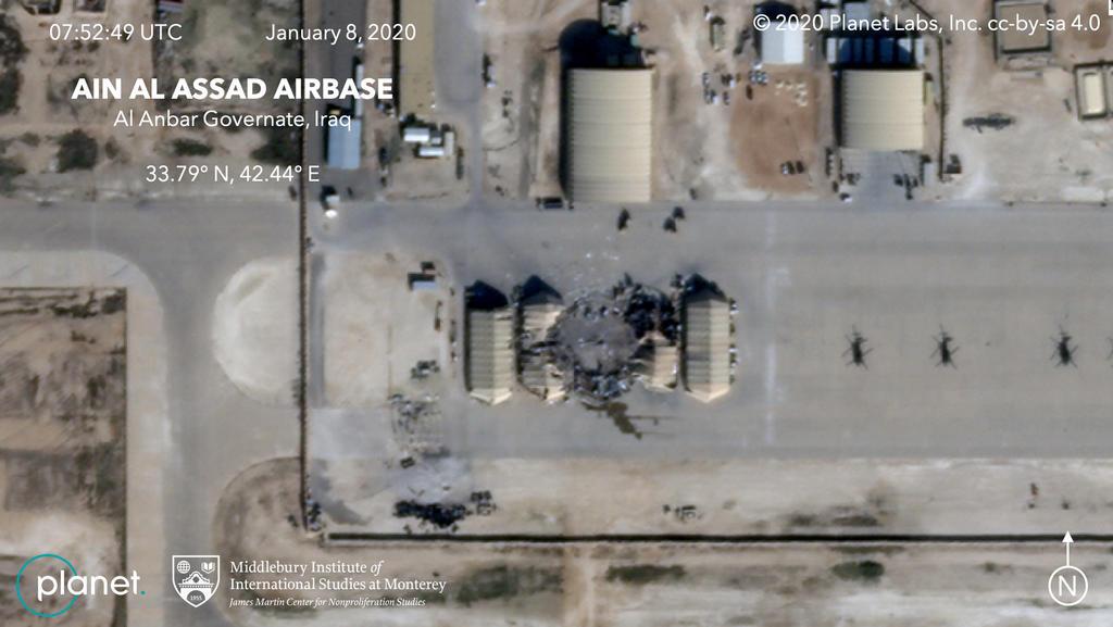 <div>Descarta EUA 'bajas mortales' tras ataques iraníes</div>