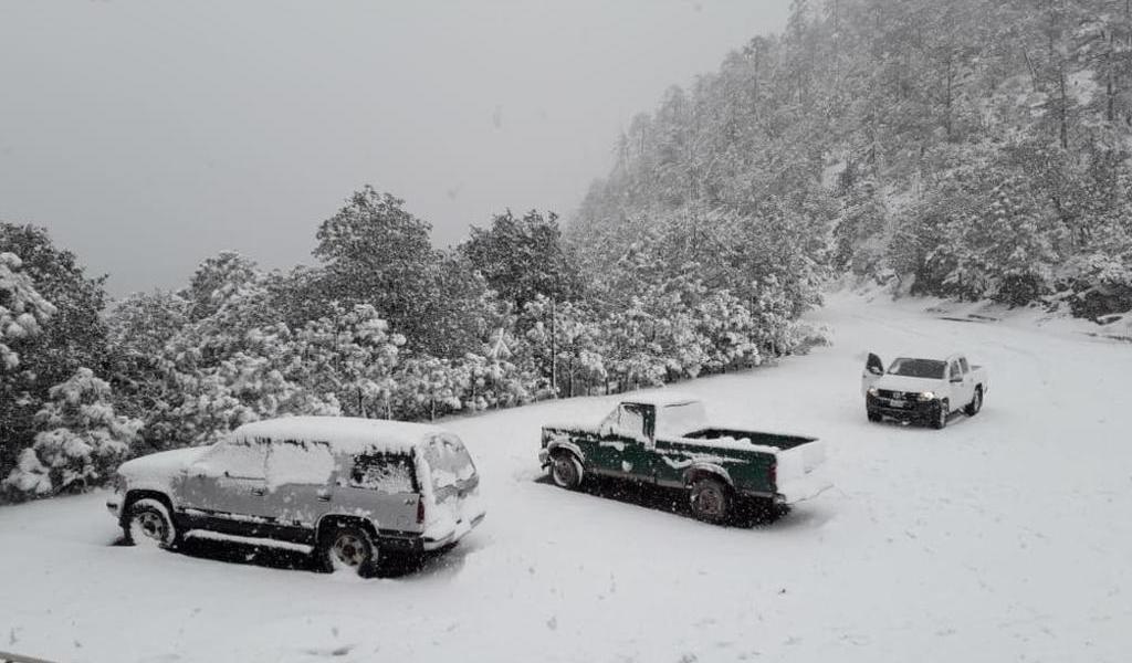 Pronostican nevadas en Baja California, Sonora y Chihuahua