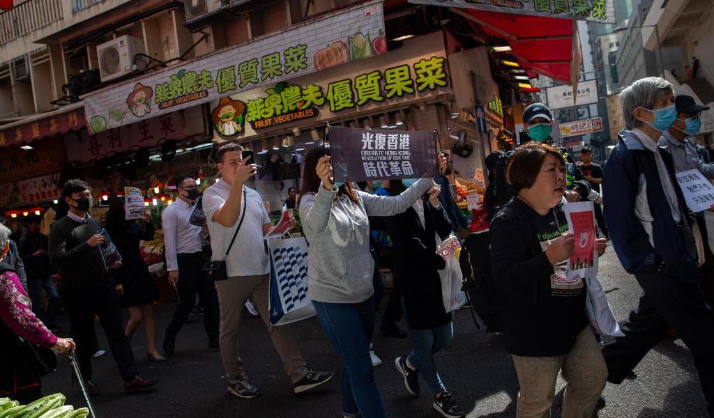 HK cifra en 8 mdd daños a bienes en protestas