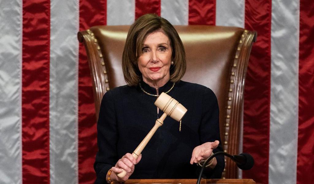 'Sé exactamente cuándo' enviar la acusación al Senado, dice Pelosi