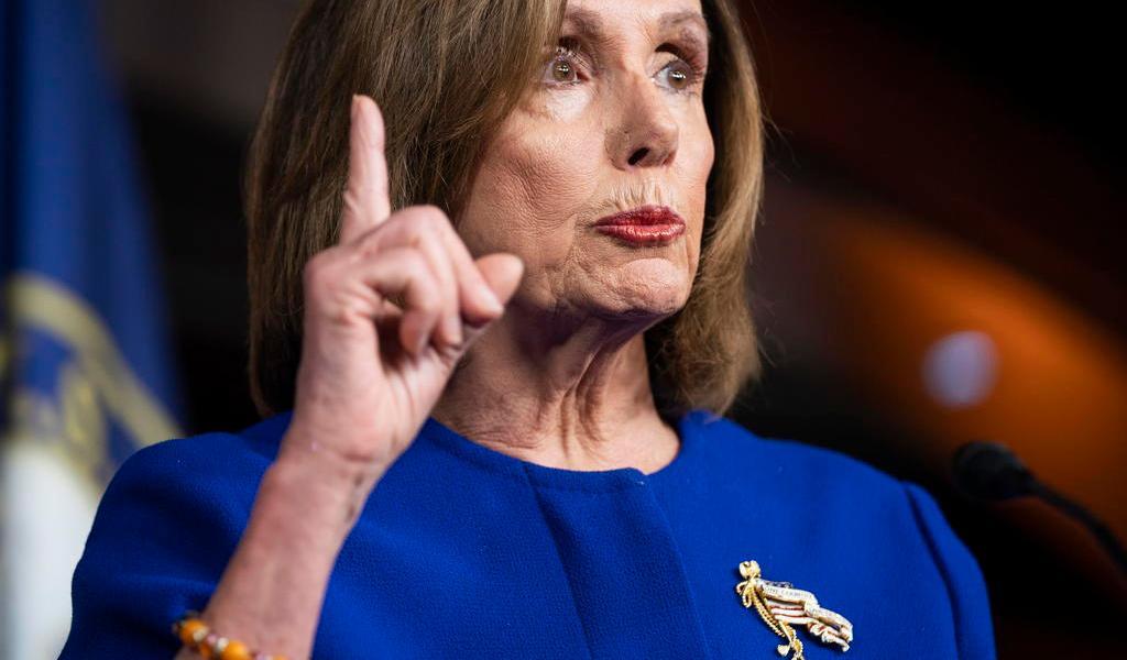 Estadounidenses esperan juicio político justo a Trump: Pelosi
