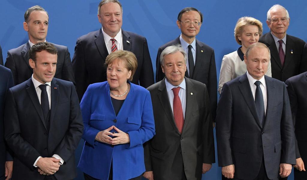 Cumbre sobre Libia concluye con acuerdo