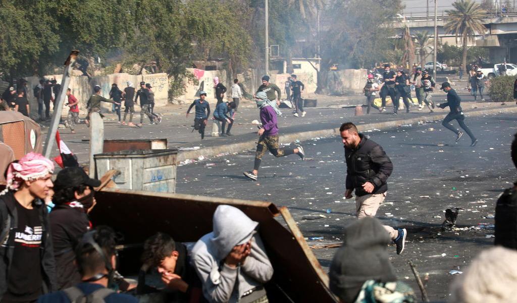 Suben a 5 los muertos durante las protestas en Irak; incluidos 2 militares