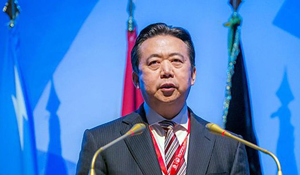 Sentencian a Meng Hongwei, expresidente de Interpol, a 13 años de prisión
