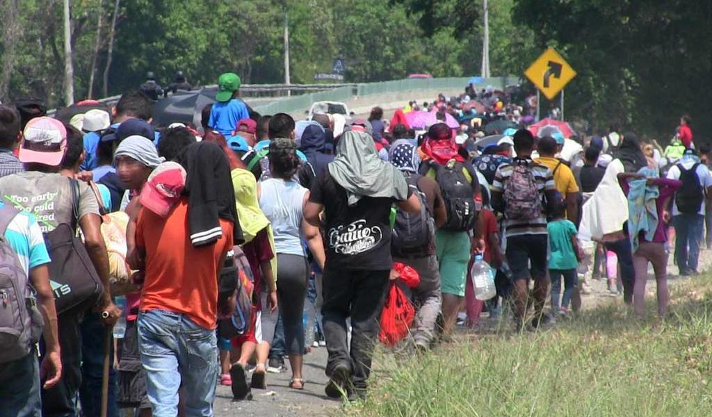 Encarcelan a sospechoso de organizar caravana de migrantes salvadoreños