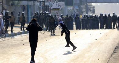 Protestas en Irak dejan al menos dos manifestantes muertos y 14 heridos
