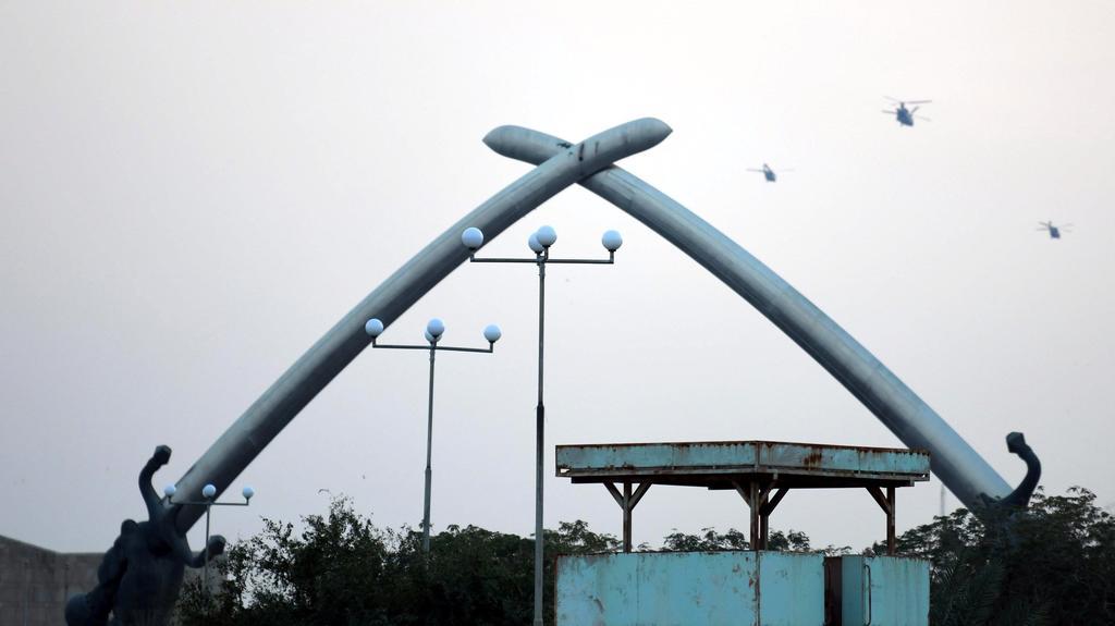 Reportan caída de cohetes cerca de embajada de EUA en Irak