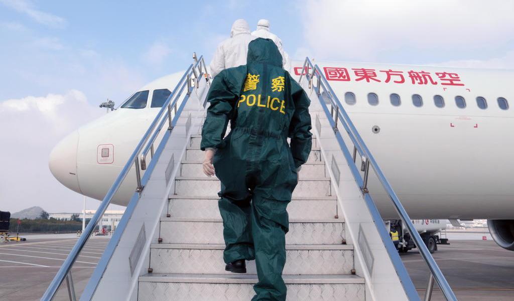 Recomienda EUA evitar viajes no esenciales a China