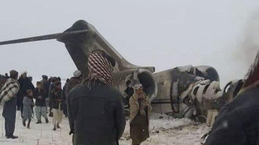 Recuperan cuerpos de avión de EUA