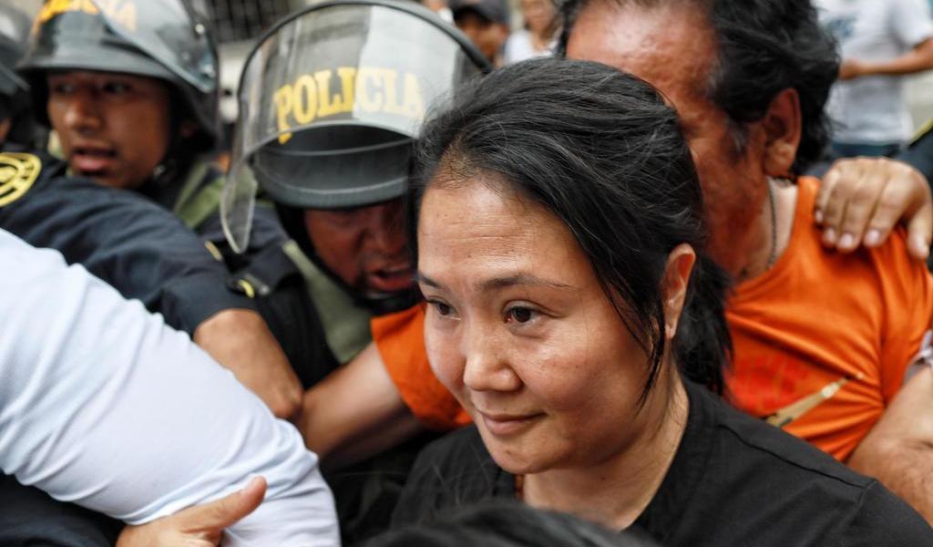Vuelve Keiko Fujimori a prisión por 15 meses