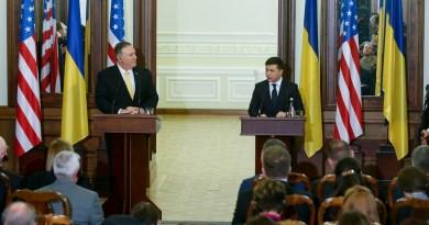 Reafirma EUA apoyo a Ucrania