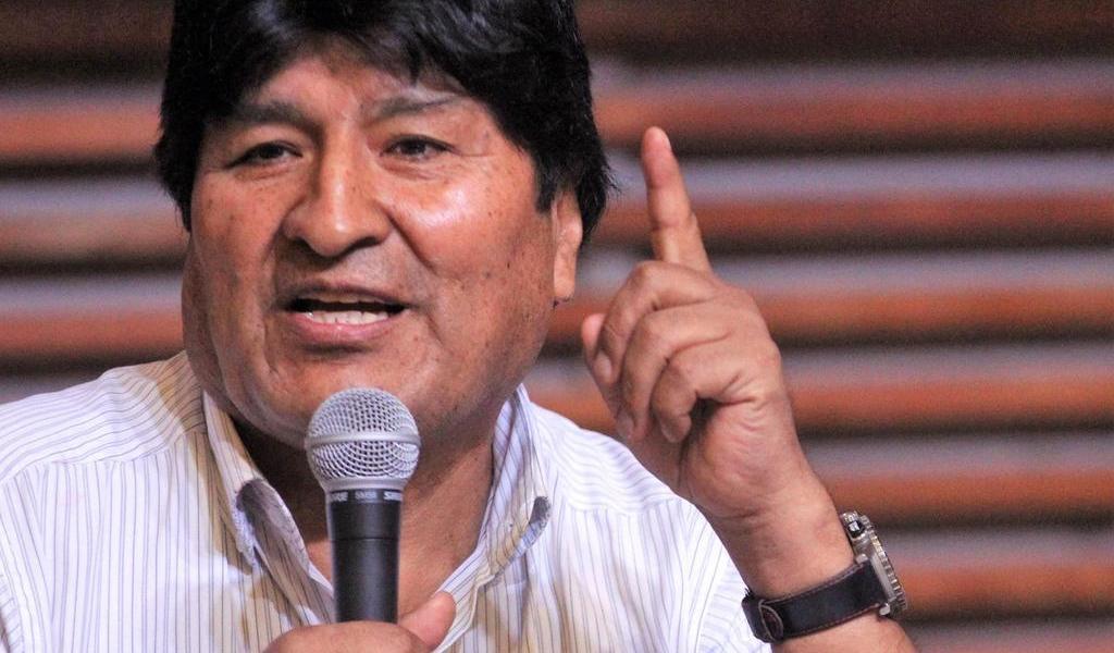 Evo Morales se presenta a senador de Bolivia para elecciones de mayo