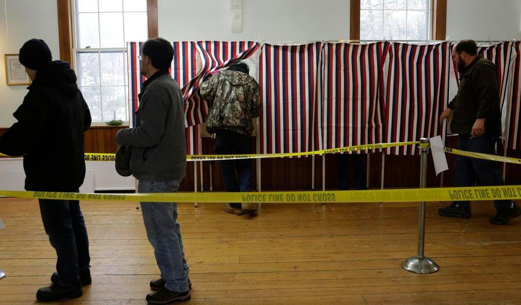 Tras polémico caucus, Sanders y Buttigieg buscan los votos de New Hampshire