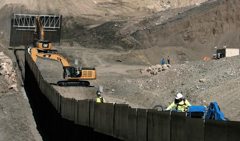 Construiremos el muro y protegeremos nuestra frontera: Trump