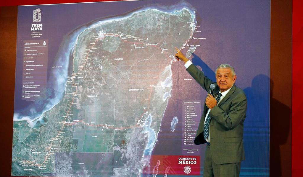 Presentan proyecto de Tren Maya en Foro Urbano Mundial