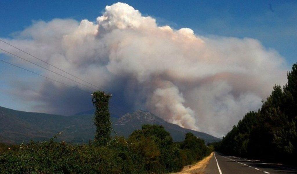 Incendio forestal amenaza parque nacional en Chile
